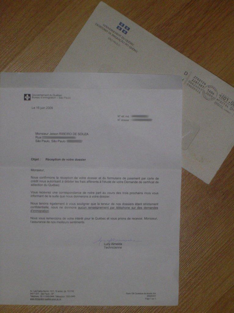 Carta de Confirmação